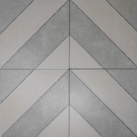 diagonal ash in chevron pattern