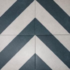 diagonal navy in chevron pattern