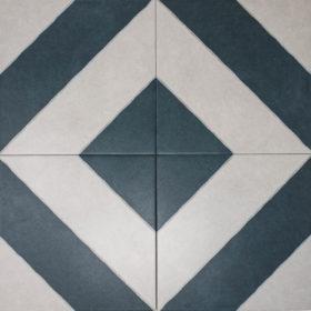 diagonal navy diamond