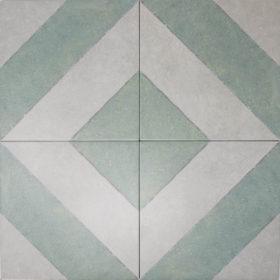 diagonal sage in diamond pattern
